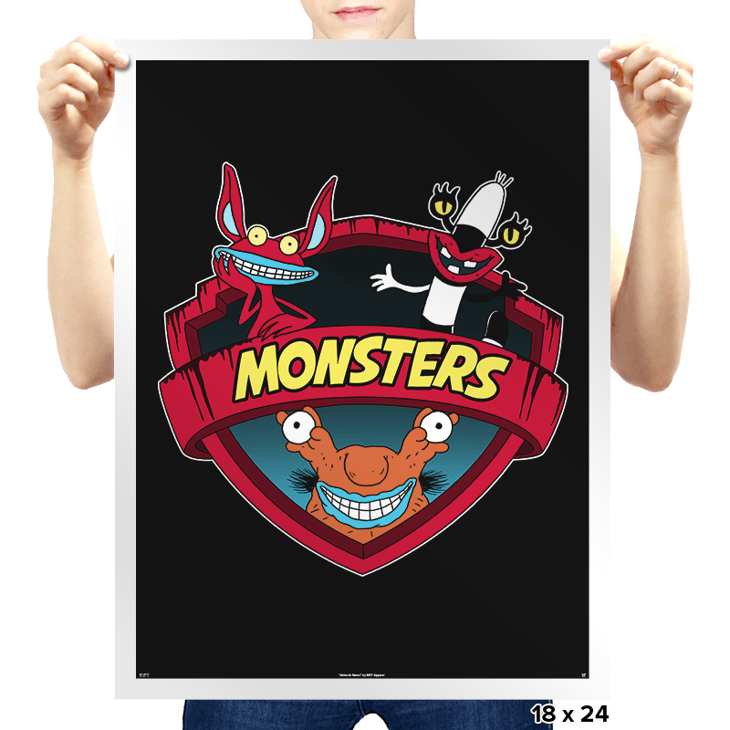 Monsters - Prints - Posters - RIPT Apparel