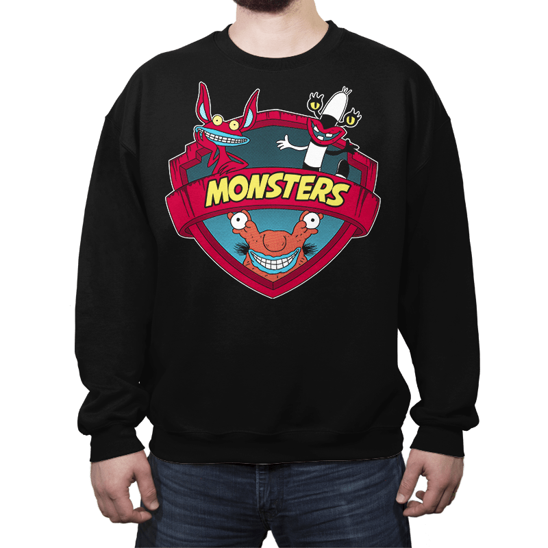 Monsters - Crew Neck - Crew Neck - RIPT Apparel