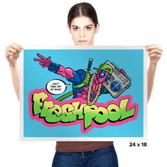 Fresh Pool - Prints - Posters - RIPT Apparel