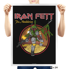 The Mandalorian - Prints - Posters - RIPT Apparel
