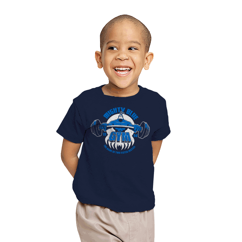 Mighty Blue Gym - Youth - T-Shirts - RIPT Apparel
