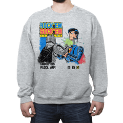 Rock'em Sock'em Super Friends - Crew Neck - Crew Neck - RIPT Apparel