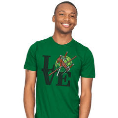 TMNT Love - Mens - T-Shirts - RIPT Apparel