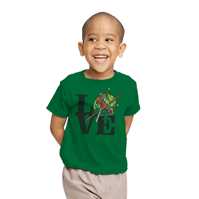 TMNT Love - Youth - T-Shirts - RIPT Apparel