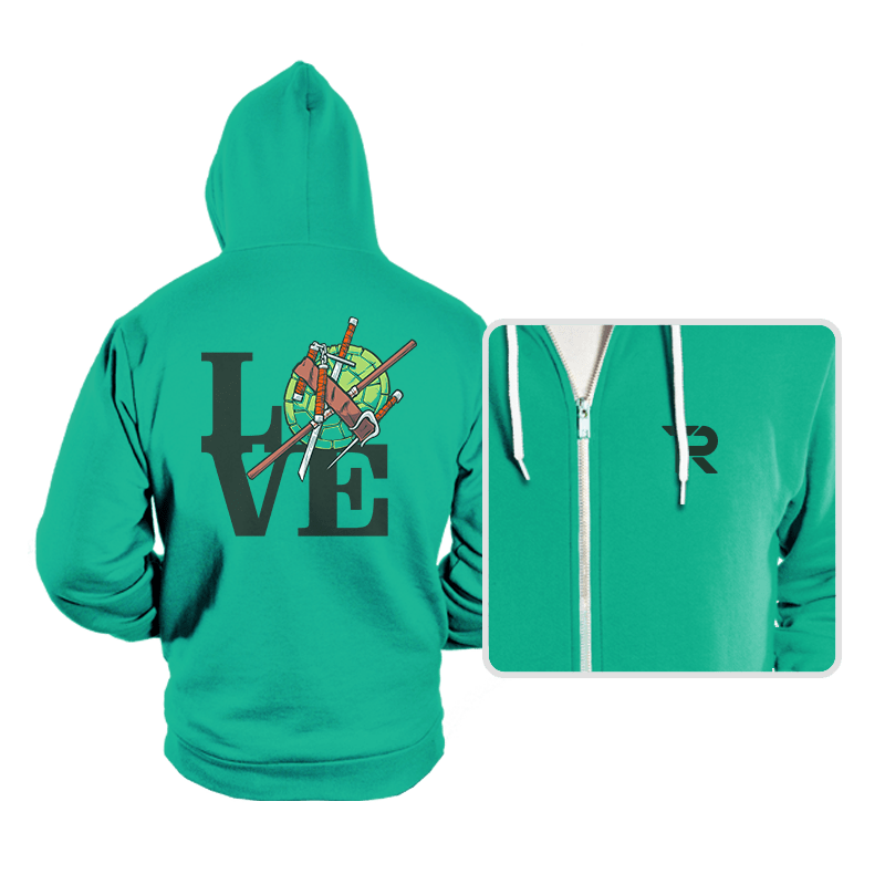 TMNT Love - Hoodies - Hoodies - RIPT Apparel