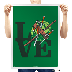 TMNT Love - Prints - Posters - RIPT Apparel