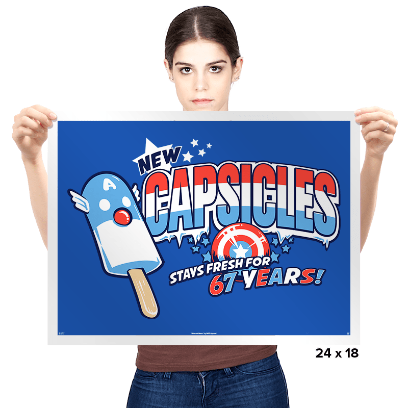 Capsicles - Prints - Posters - RIPT Apparel