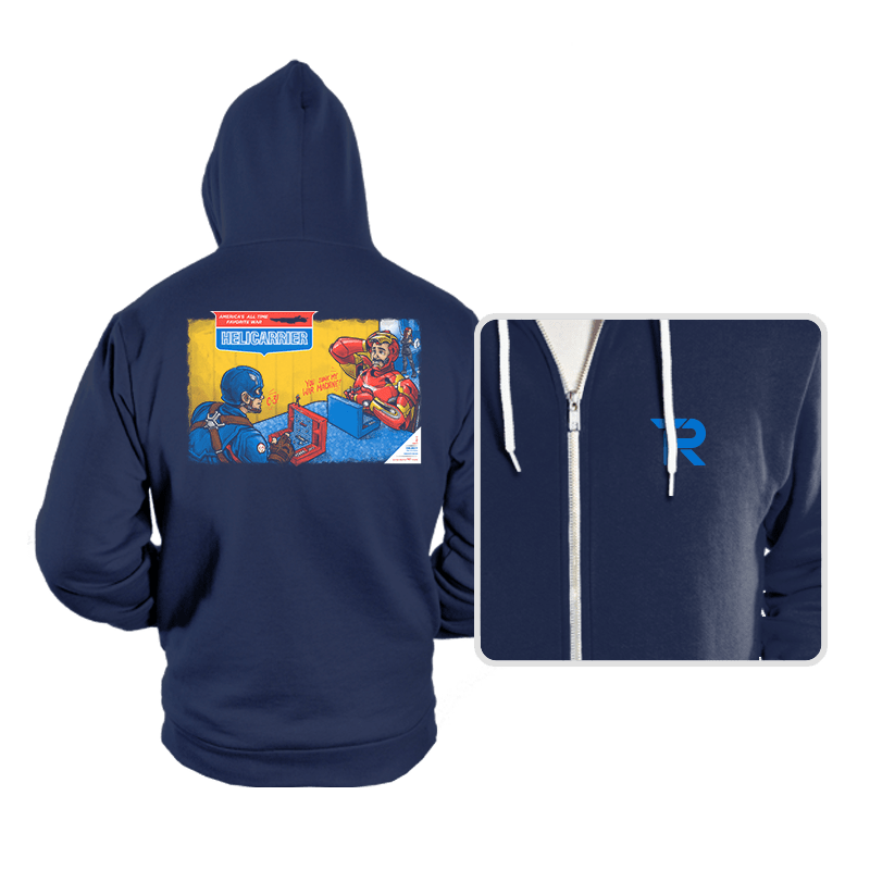 Hellicarrier: The Game! - Hoodies - Hoodies - RIPT Apparel