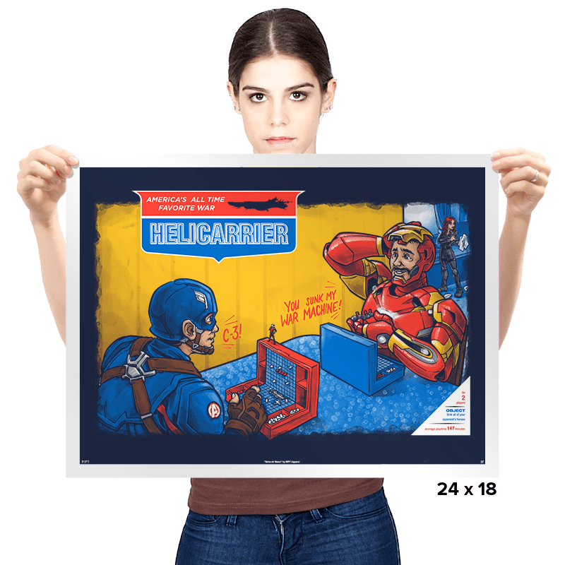 Hellicarrier: The Game! - Prints - Posters - RIPT Apparel