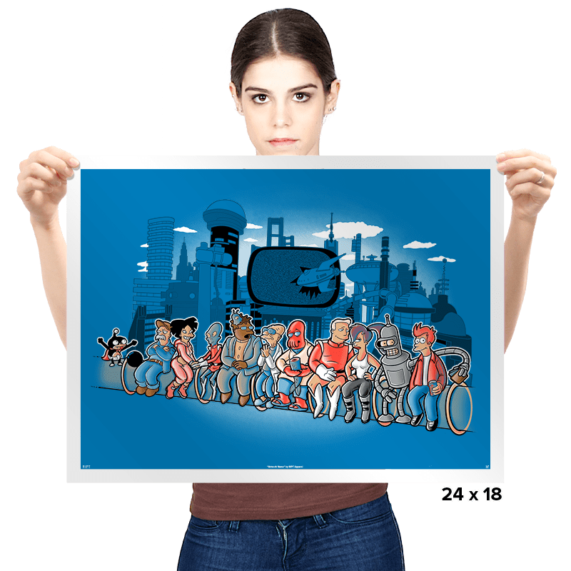 Future Workers - Prints - Posters - RIPT Apparel