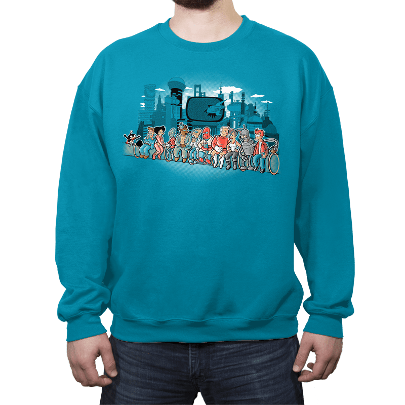 Future Workers - Crew Neck - Crew Neck - RIPT Apparel