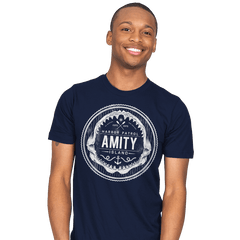 Amity Island Harbor Patrol - Mens - T-Shirts - RIPT Apparel