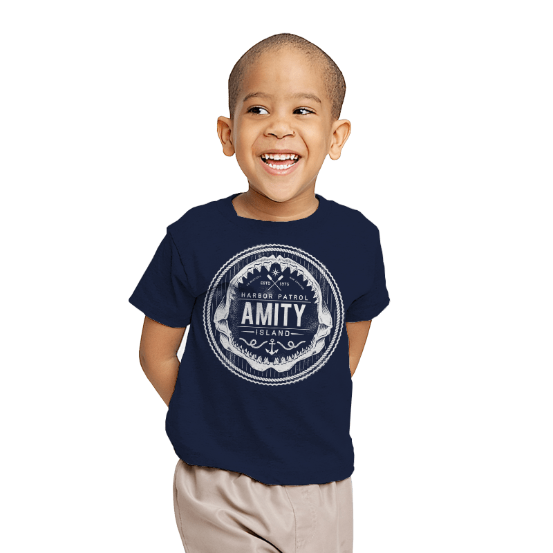 Amity Island Harbor Patrol - Youth - T-Shirts - RIPT Apparel