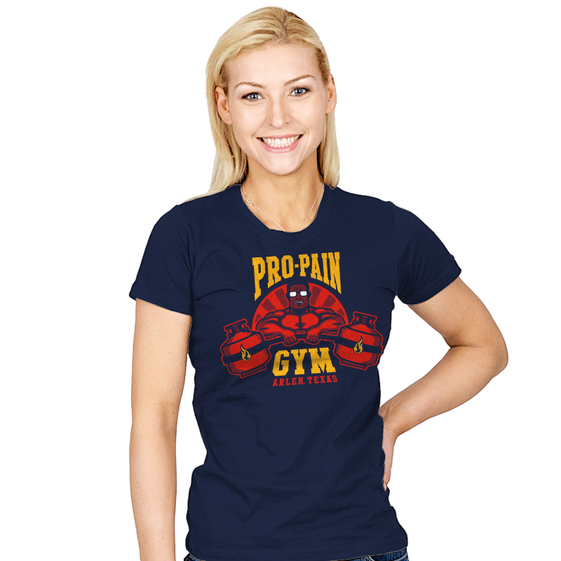 Propane Fitness - Womens - T-Shirts - RIPT Apparel