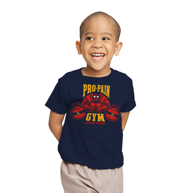 Propane Fitness - Youth - T-Shirts - RIPT Apparel