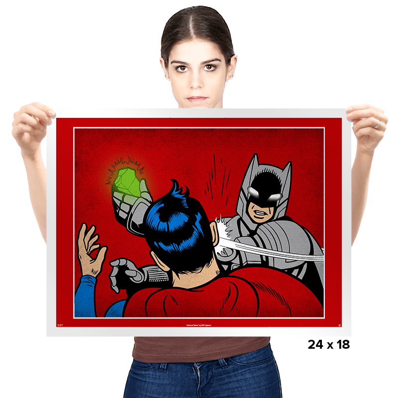 Bat-Slap - Prints - Posters - RIPT Apparel
