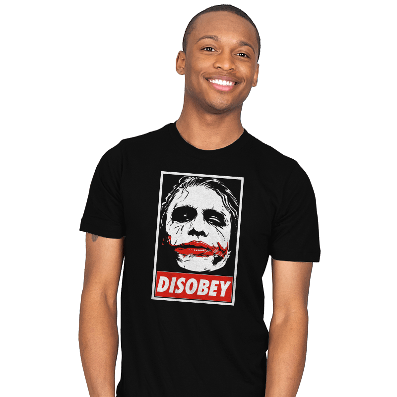 Chaos and Disobey - Mens - T-Shirts - RIPT Apparel