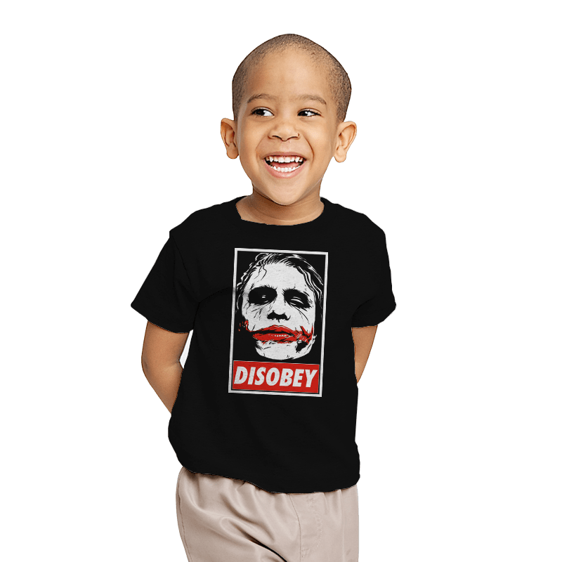 Chaos and Disobey - Youth - T-Shirts - RIPT Apparel