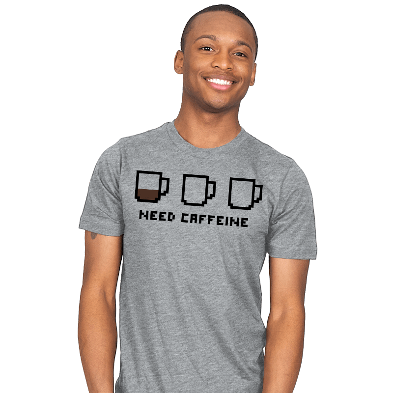 Need caffeine - Mens - T-Shirts - RIPT Apparel
