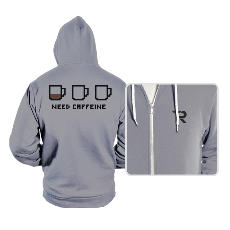 Need caffeine - Hoodies - Hoodies - RIPT Apparel