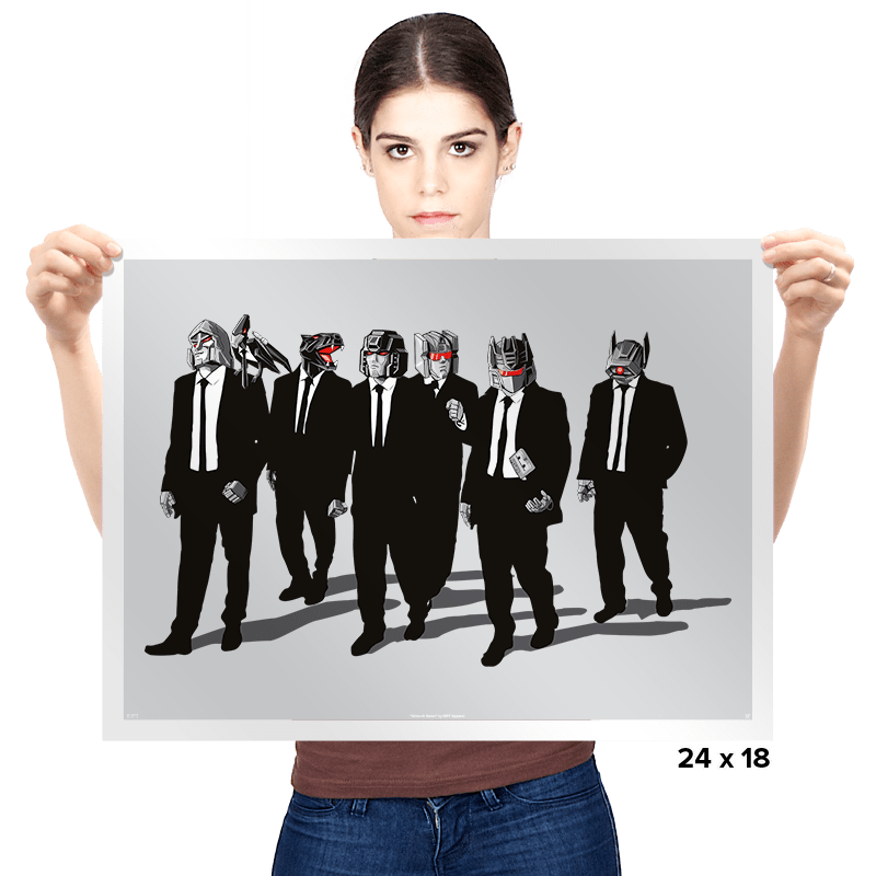 Reservoir Bots - Prints - Posters - RIPT Apparel