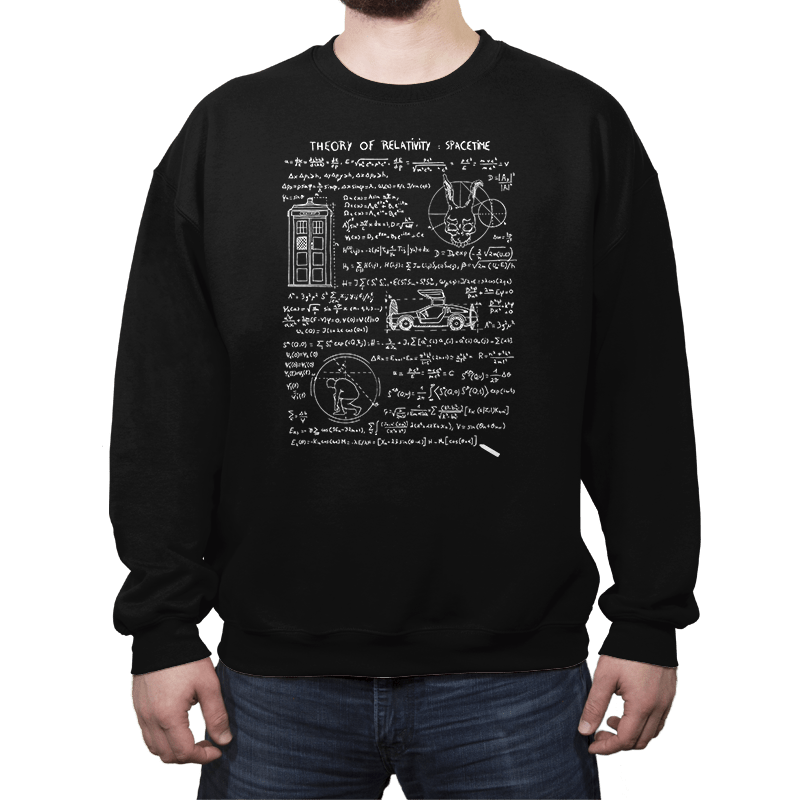 Spacetime - Crew Neck - Crew Neck - RIPT Apparel