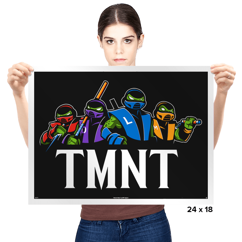 Mortal Turtles - Prints - Posters - RIPT Apparel