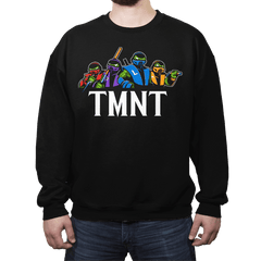 Mortal Turtles - Crew Neck - Crew Neck - RIPT Apparel