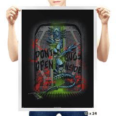 Don't Open Bugs Inside Exclusive - Prints - Posters - RIPT Apparel