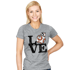 Love BB Exclusive - Womens - T-Shirts - RIPT Apparel
