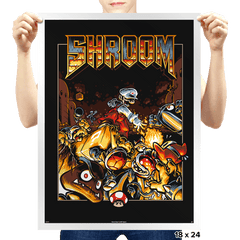 Shroom Exclusive - Prints - Posters - RIPT Apparel