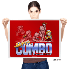 Super Combo With Fries Exclusive - Prints - Posters - RIPT Apparel