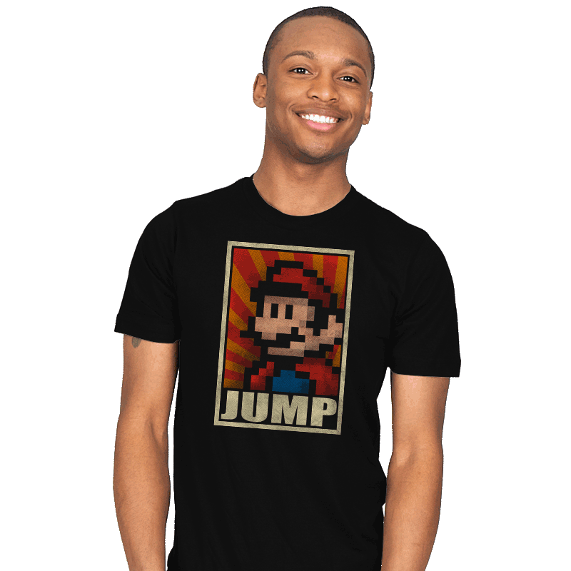 Jump! - Mens - T-Shirts - RIPT Apparel