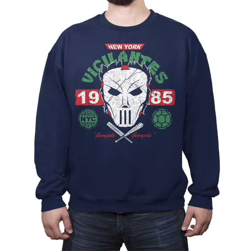 NYC Vigilantes Exclusive - Crew Neck - Crew Neck - RIPT Apparel