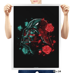 Dark Side of the Bloom - Prints - Posters - RIPT Apparel