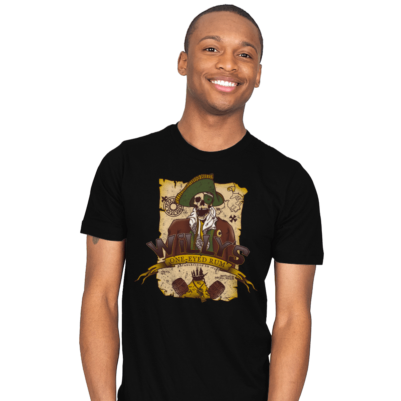 Willy's One-Eyed Rum - Mens - T-Shirts - RIPT Apparel