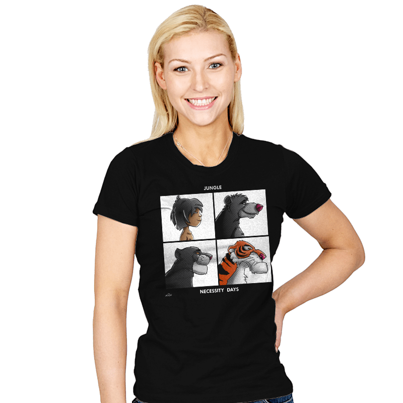 Jungle Days - Womens - T-Shirts - RIPT Apparel