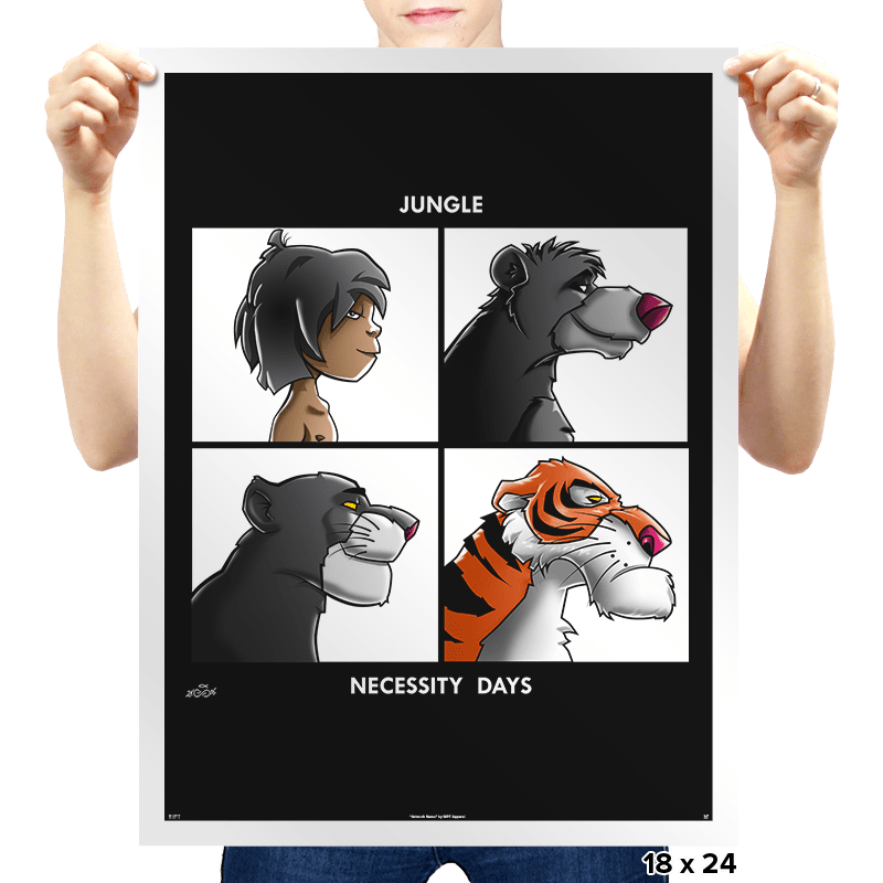Jungle Days - Prints - Posters - RIPT Apparel