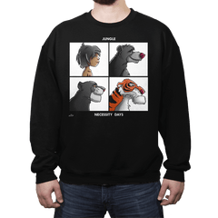Jungle Days - Crew Neck - Crew Neck - RIPT Apparel