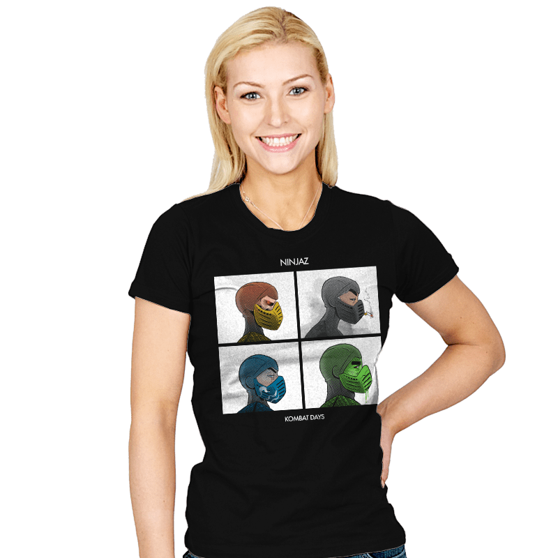 Kombat Days - Womens - T-Shirts - RIPT Apparel