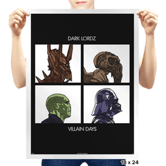 Dark Lordz - Villain Days - Prints - Posters - RIPT Apparel