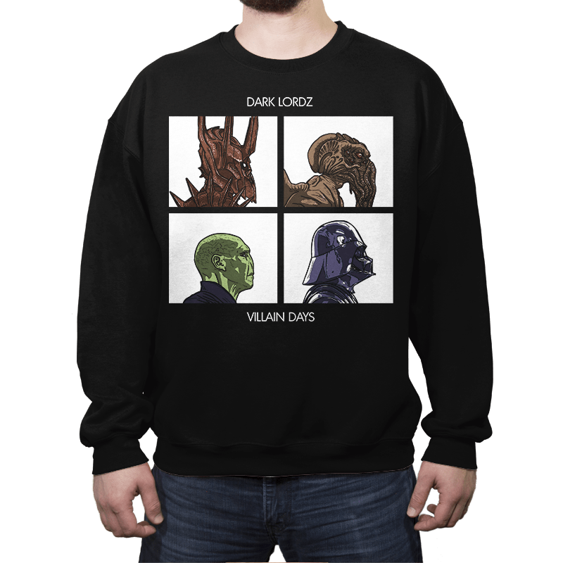 Dark Lordz - Villain Days - Crew Neck - Crew Neck - RIPT Apparel