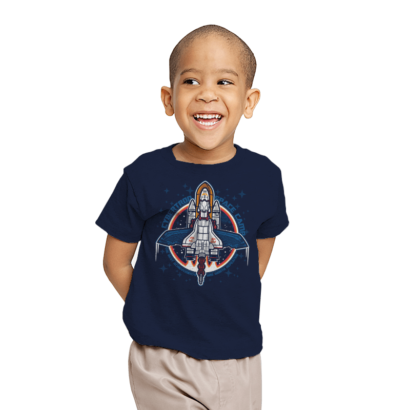 Cybertron Space Camp - Youth - T-Shirts - RIPT Apparel