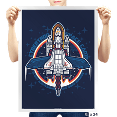 Cybertron Space Camp - Prints - Posters - RIPT Apparel