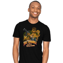 Big Trouble in Little Warpzone - Mens - T-Shirts - RIPT Apparel