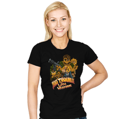 Big Trouble in Little Warpzone - Womens - T-Shirts - RIPT Apparel