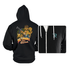 Big Trouble in Little Warpzone - Hoodies - Hoodies - RIPT Apparel