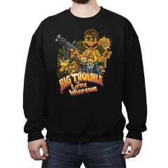 Big Trouble in Little Warpzone - Crew Neck - Crew Neck - RIPT Apparel