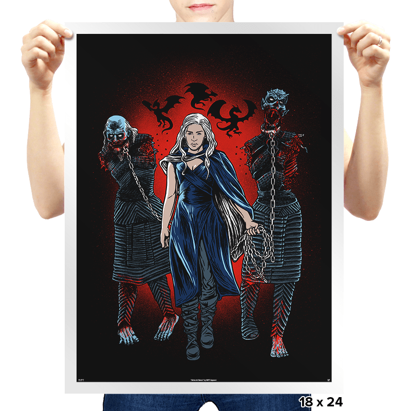 Game Of Walkers - Prints - Posters - RIPT Apparel