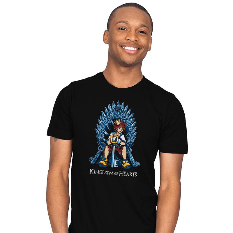 Kingdom of Hearts - Mens - T-Shirts - RIPT Apparel